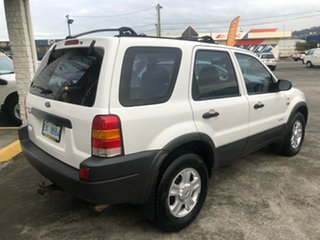 2001 Ford Escape BA XLT White 4 Speed Automatic SUV.