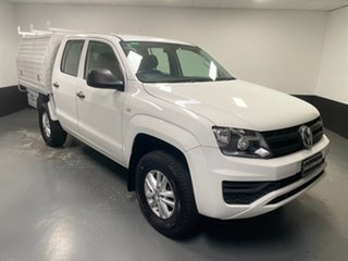 2018 Volkswagen Amarok 2H MY18 TDI420 4MOTION Perm Core White 8 Speed Automatic Utility.