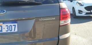 2011 Ford Territory SZ Titanium Seq Sport Shift Havana 6 Speed Sports Automatic Wagon
