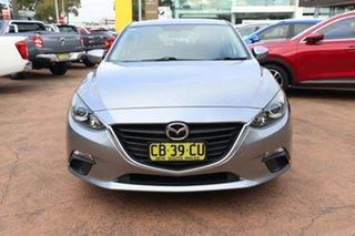 2014 Mazda 3 BM Neo Grey 6 Speed Automatic Hatchback