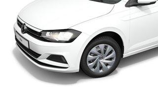2021 Volkswagen Polo AW Comfortline Pure White 7 Speed Semi Auto Hatchback