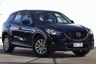 2013 Mazda CX-5 KE1031 MY13 Maxx SKYACTIV-Drive AWD Sport Blue 6 Speed Sports Automatic Wagon.