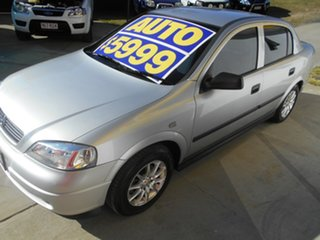 2005 Holden Astra TS MY05 Classic Silver 4 Speed Automatic Sedan.