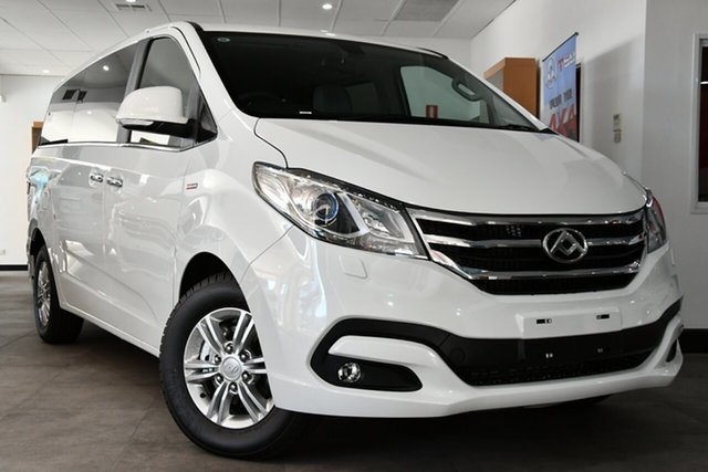 New LDV G10 SV7A Victoria Park, 2021 LDV G10 SV7A Blanc White 6 Speed Sports Automatic Wagon