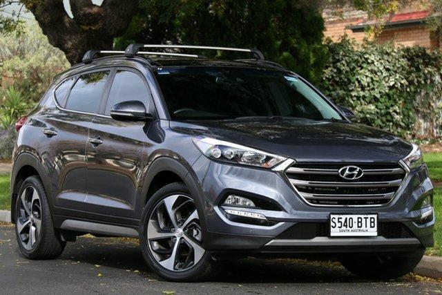 Used Hyundai Tucson TLE2 MY18 Highlander D-CT AWD Nailsworth, 2017 Hyundai Tucson TLE2 MY18 Highlander D-CT AWD Grey 7 Speed Sports Automatic Dual Clutch Wagon