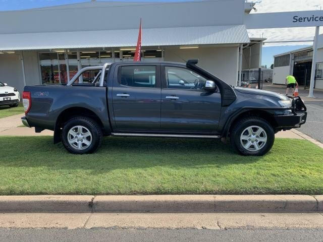 Used Ford Ranger PX XLT 3.2 (4x4) Emerald, 2014 Ford Ranger PX XLT 3.2 (4x4) Grey 6 Speed Automatic Double Cab Pick Up