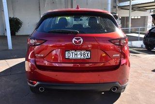 2017 Mazda CX-5 KF2W7A Maxx SKYACTIV-Drive FWD Sport Red 6 Speed Sports Automatic Wagon