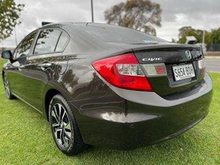 2014 Honda Civic 9th Gen Ser II MY14 VTi-L Grey 5 Speed Sports Automatic Sedan.