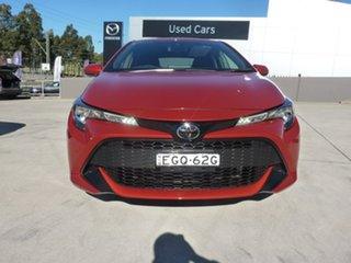 2019 Toyota Corolla Mzea12R Ascent Sport Volcanic Red 10 Speed Constant Variable Hatchback.