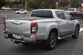 2021 Mitsubishi Triton MR MY21 GLS Double Cab Sterling Silver 6 Speed Sports Automatic Utility