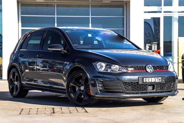 Used Volkswagen Golf VII MY15 GTI DSG Liverpool, 2015 Volkswagen Golf VII MY15 GTI DSG Carbon Steel Grey 6 Speed Sports Automatic Dual Clutch