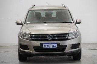 2013 Volkswagen Tiguan 5N MY14 118TSI DSG 2WD Gold 6 Speed Sports Automatic Dual Clutch Wagon.