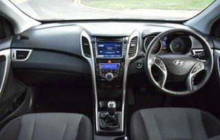 2013 Hyundai i30 GD Elite White 6 Speed Manual Hatchback.