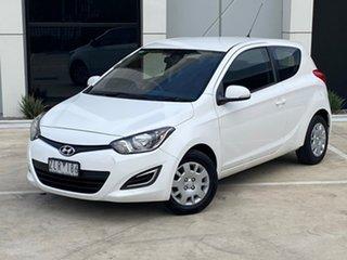 2012 Hyundai i20 PB MY13 Active White 4 Speed Automatic Hatchback.