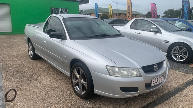 Used Holden Commodore VZ Rockhampton, 2005 Holden Commodore VZ spac Silver 6 Speed Manual Utility