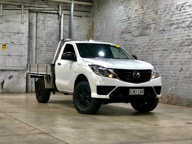 Used Mazda BT-50 UR0YG1 XT Mile End South, 2019 Mazda BT-50 UR0YG1 XT White 6 Speed Sports Automatic Cab Chassis