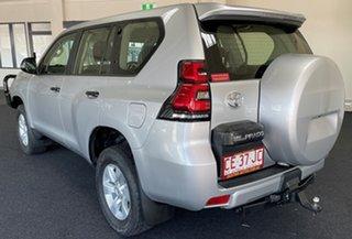 2018 Toyota Landcruiser Prado GDJ150R GX Silver 6 Speed Sports Automatic Wagon