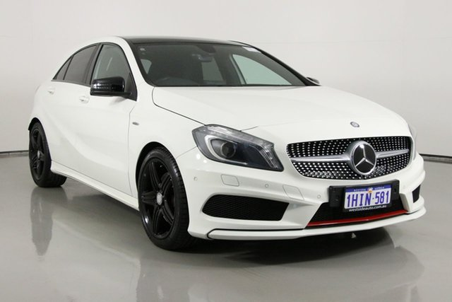 Used Mercedes-Benz A250 176 Sport Bentley, 2013 Mercedes-Benz A250 176 Sport White 7 Speed Automatic Hatchback