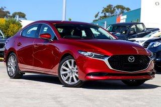 2021 Mazda 3 BP2SLA G25 SKYACTIV-Drive GT Red 6 Speed Sports Automatic Sedan.