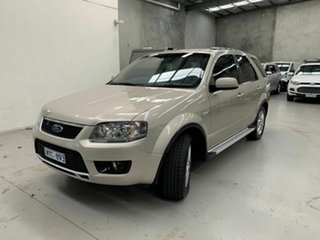 2009 Ford Territory SY MkII TS AWD Gold 6 Speed Sports Automatic Wagon.