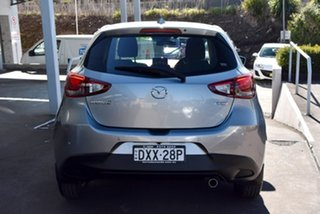 2018 Mazda 2 DJ2HAA Genki SKYACTIV-Drive Silver 6 Speed Sports Automatic Hatchback