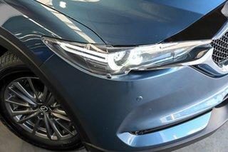 2018 Mazda CX-5 KF4W2A Touring SKYACTIV-Drive i-ACTIV AWD Blue 6 Speed Sports Automatic Wagon.