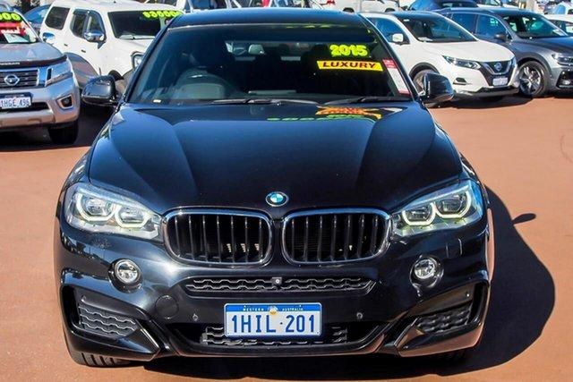 Used BMW X6 F16 xDrive30d Coupe Steptronic Osborne Park, 2015 BMW X6 F16 xDrive30d Coupe Steptronic Black 8 Speed Sports Automatic Wagon