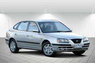2006 Hyundai Elantra XD MY05 Adventurine Silver 4 Speed Automatic Hatchback.