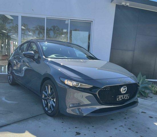 Demo Mazda 3 Bowen, 2021 Mazda 3 G20 Evolve Grey 6 Speed Automatic Hatchback