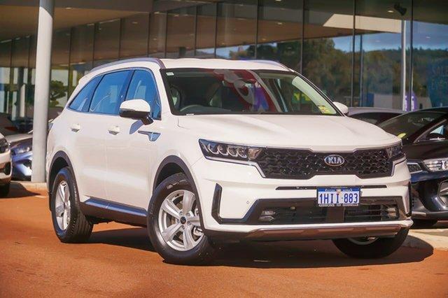 Demo Kia Sorento S Gosnells, 2021 Kia Sorento MQ4 S White Sports Automatic Dual Clutch SUV
