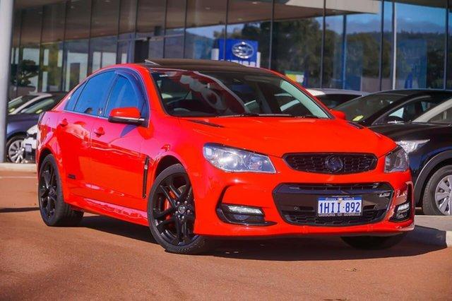 Used Holden Commodore VF II MY16 SS V Redline Gosnells, 2015 Holden Commodore VF II MY16 SS V Redline Red 6 Speed Manual Sedan