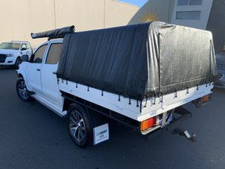 2011 Toyota Hilux KUN26R MY12 SR Double Cab White 5 Speed Manual Cab Chassis.