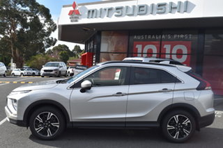 2021 Mitsubishi Eclipse Cross YB MY21 LS AWD Sterling Silver 8 Speed Constant Variable Wagon.