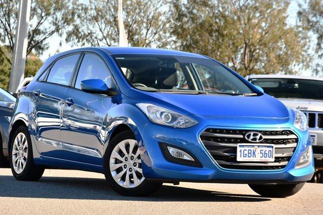 Used Hyundai i30 GD4 Series II MY17 Active Clarkson, 2016 Hyundai i30 GD4 Series II MY17 Active Blue 6 Speed Manual Hatchback