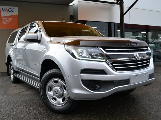 Used Holden Colorado RG MY17 LS Pickup Crew Cab 4x2 Fawkner, 2017 Holden Colorado RG MY17 LS Pickup Crew Cab 4x2 Silver 6 Speed Sports Automatic Utility