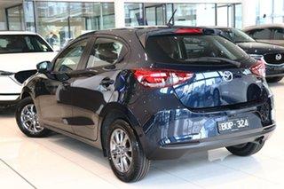2021 Mazda 2 DJ2HAA G15 SKYACTIV-Drive Pure Deep Crystal Blue 6 Speed Sports Automatic Hatchback.