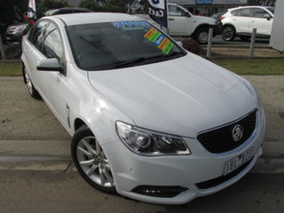 2013 Holden Commodore VF MY14 International White 6 Speed Automatic Sedan.