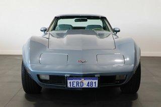 1977 Chevrolet Corvette C3 MY1977 Blue 3 Speed Automatic Targa.