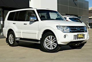 2012 Mitsubishi Pajero NW MY12 Exceed White 5 Speed Sports Automatic Wagon.