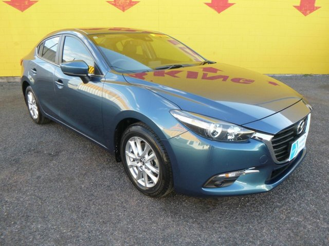 Used Mazda 3 BN5276 Maxx SKYACTIV-MT Sport Winnellie, 2018 Mazda 3 BN5276 Maxx SKYACTIV-MT Sport Blue 6 Speed Manual Sedan