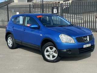 2009 Nissan Dualis J10 MY2009 ST Hatch X-tronic Blue 6 Speed Constant Variable Hatchback.