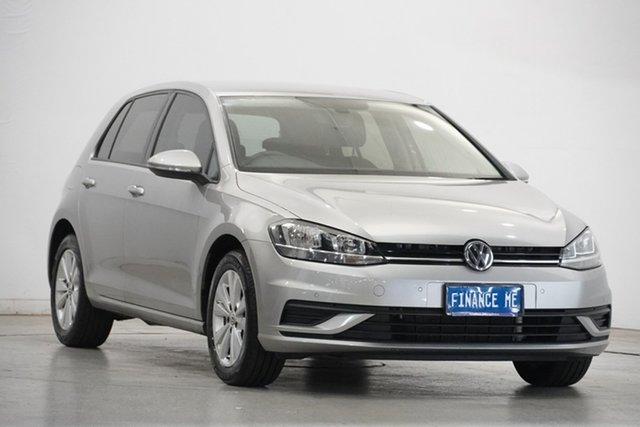 Used Volkswagen Golf 7.5 MY18 110TSI DSG Trendline Victoria Park, 2017 Volkswagen Golf 7.5 MY18 110TSI DSG Trendline Tungsten Silver 7 Speed