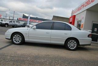 1997 Holden Calais VT White 4 Speed Automatic Sedan.