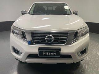 2018 Nissan Navara D23 S3 ST White 6 Speed Manual Utility.