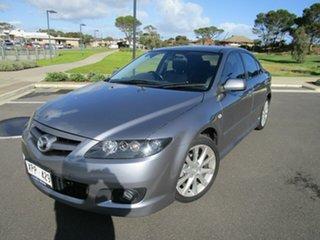 2007 Mazda 6 GG 05 Upgrade Luxury Sports Grey 5 Speed Auto Activematic Hatchback