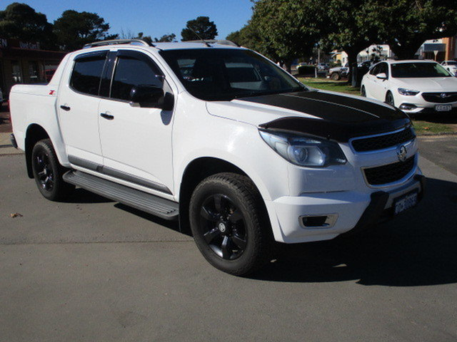 Used Holden Colorado RG MY17 Z71 Katanning, 2016 Holden Colorado RG MY17 Z71 White 6 Speed Automatic Dual Cab