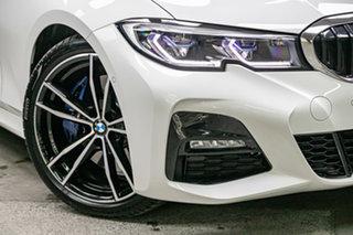 2020 BMW 3 Series G20 330i Steptronic M Sport Mineral White 8 Speed Sports Automatic Sedan.