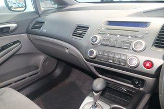 2008 Honda Civic MY08 VTi White 5 Speed Automatic Sedan