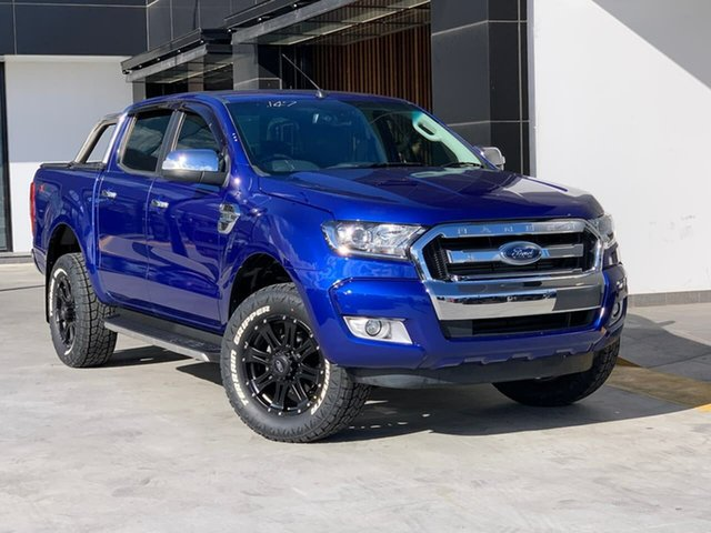 Used Ford Ranger PX MkII XLT Super Cab Liverpool, 2015 Ford Ranger PX MkII XLT Super Cab Blue 6 Speed Sports Automatic Utility