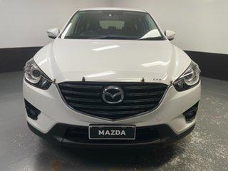 2016 Mazda CX-5 KE1072 Maxx SKYACTIV-Drive Sport White 6 Speed Sports Automatic Wagon.